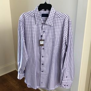 David Donahue NWT men's dress shirt XL
